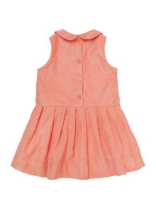 Benetton Baby girl drop waist pin cord dress