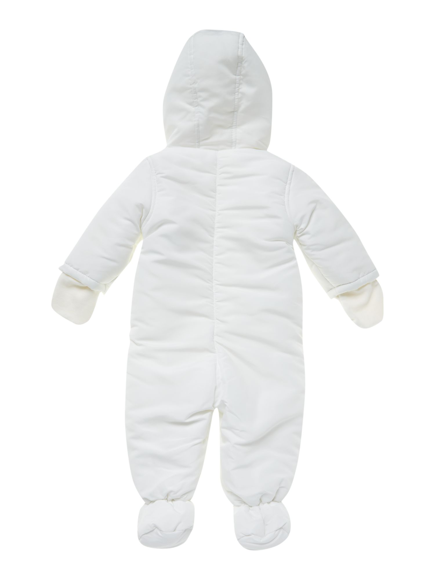 Baby padded snowsuit