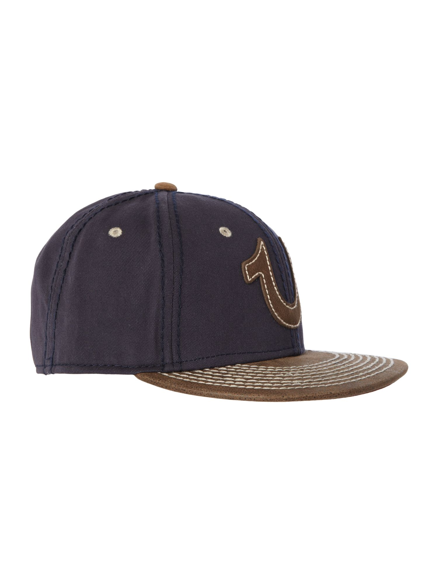 True religion logo hat