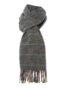 Glen Prince Double sided tartan lambswool scarf