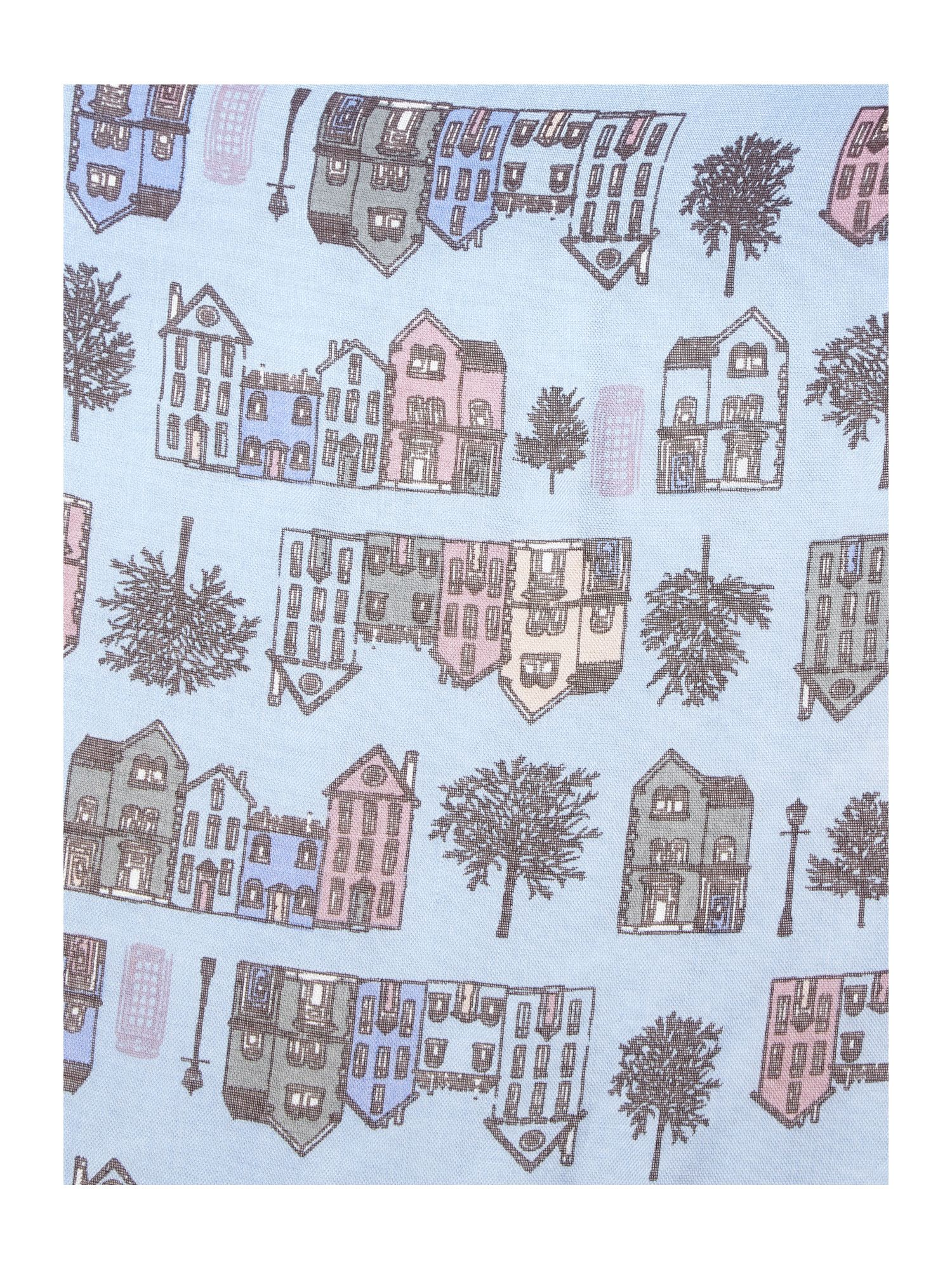 Townhouse print scarf