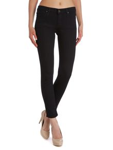 Lee Scarlett skinny jeans in black