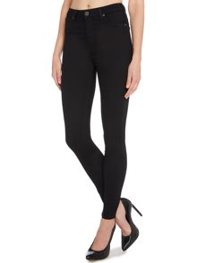 Lee Skyler high waist skinny in black