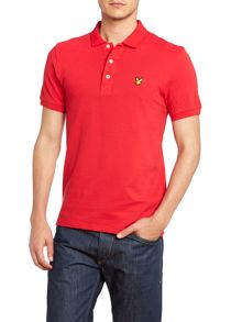 Regular fit classic pique polo shirt