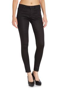 Mid rise super skinny jeans in night blue