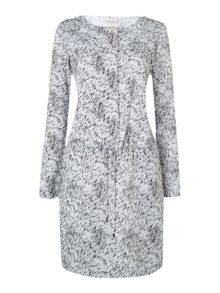 Dorothe long sleeve knitted dress in windy grass