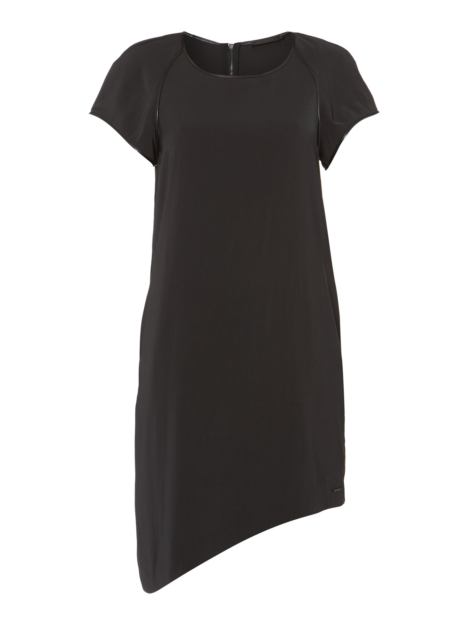 Dolly capped sleeve dress in metorite