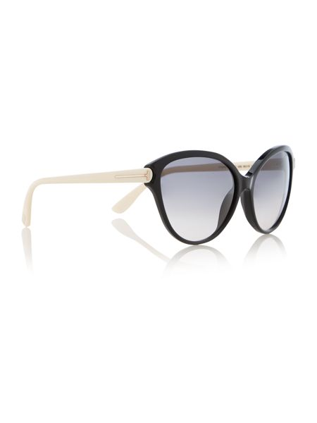 Tom Ford Sunglasses Square Matte Sunglasses