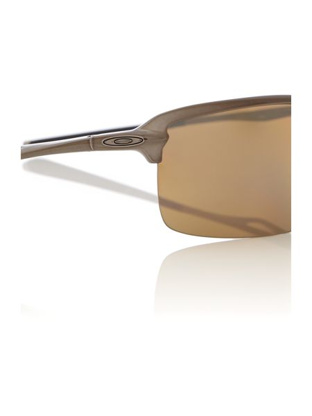 Oakley Men`s tungsten iridium polarized rectangular sung