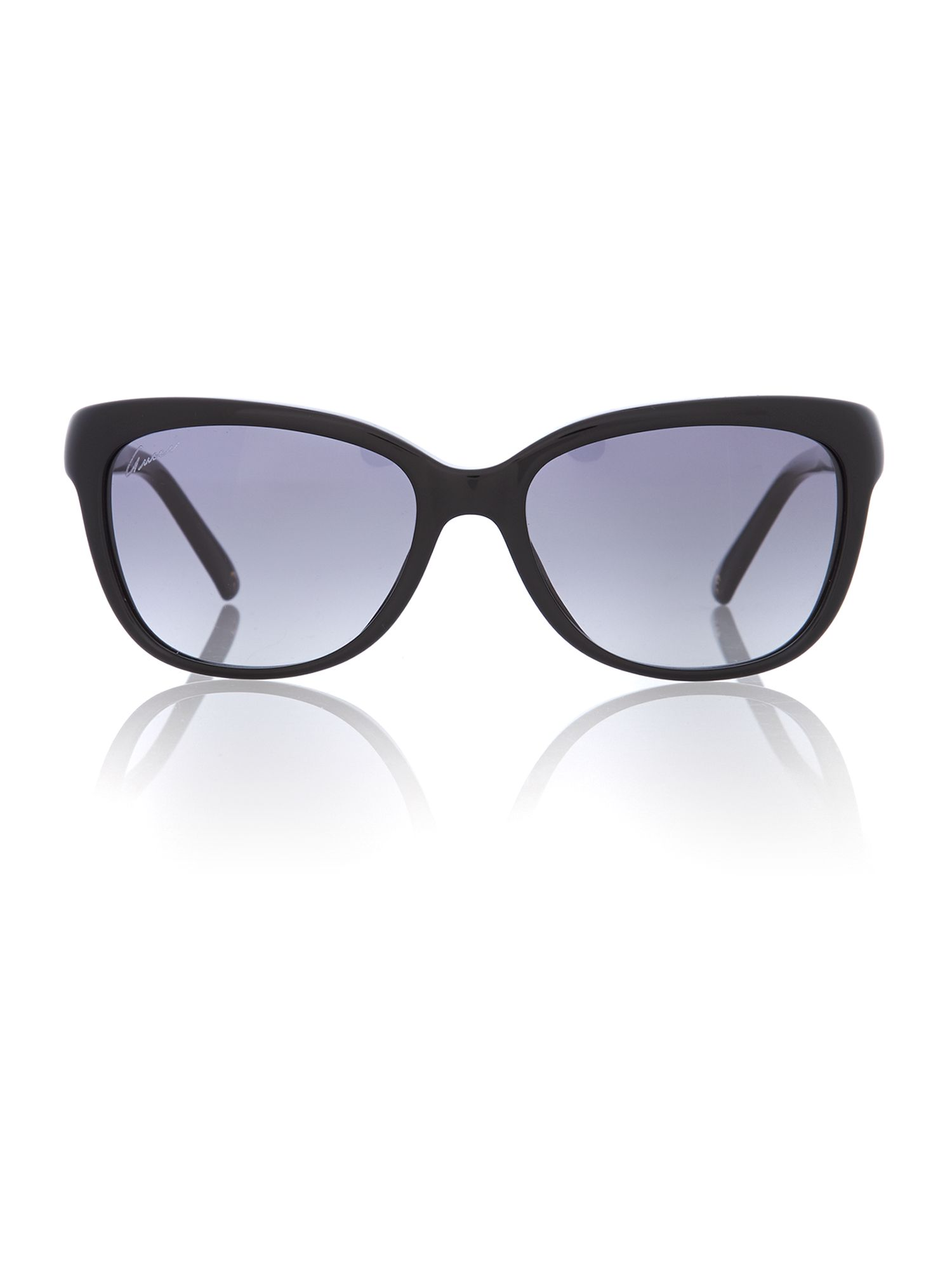 Women grey grad squared sunglasses