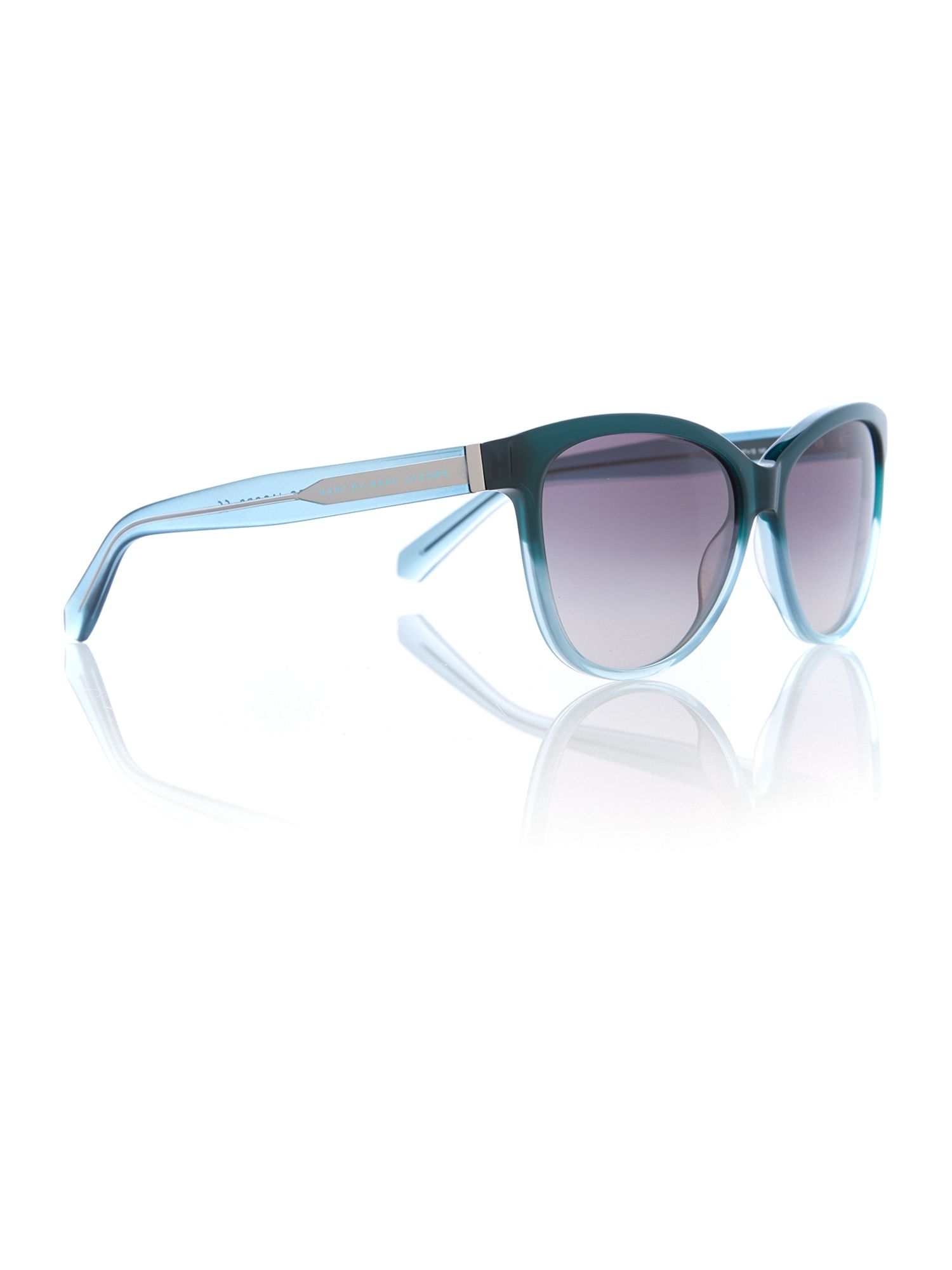 Women grey oval sunglasses