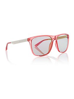 Women`s purple square sunglasses