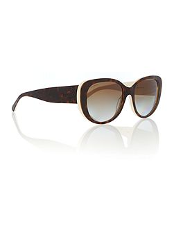 Ralph Lauren Sunglasses Women`s gradient brown polar butterfly