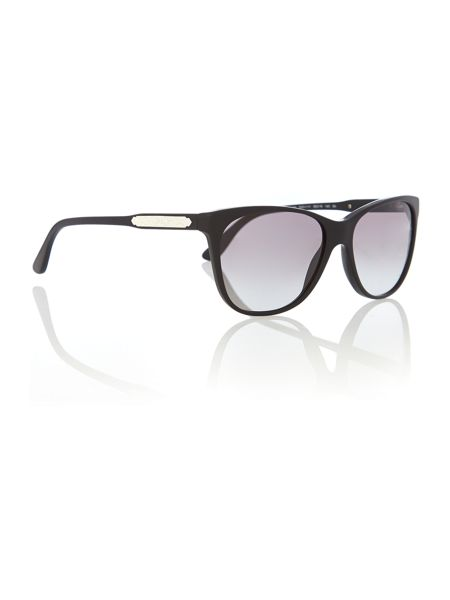 Ralph Lauren Sunglasses Women`s grey gradient cat-eye sunglasses