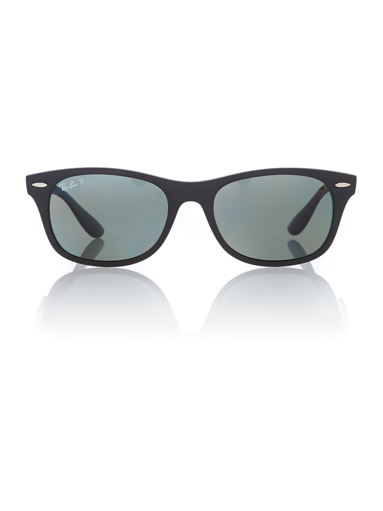 Unisex polar green squared sunglasses