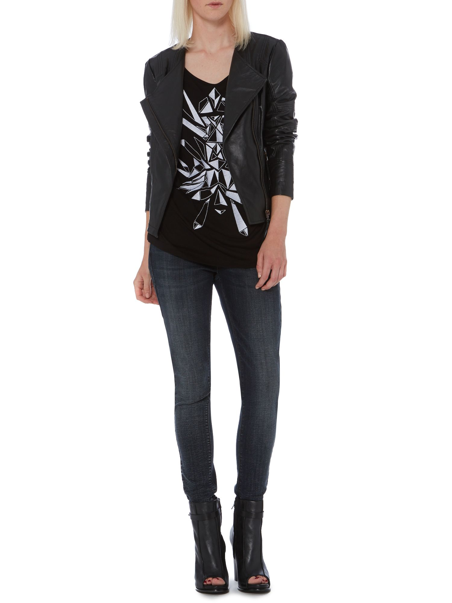 Thistle winter wash skinny jean