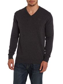 Barbour Essential Lambswool V Neck