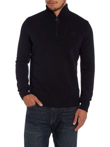 Essential Lambswool half zip