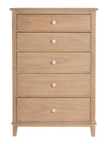 Elenor 5 drawer tall chest