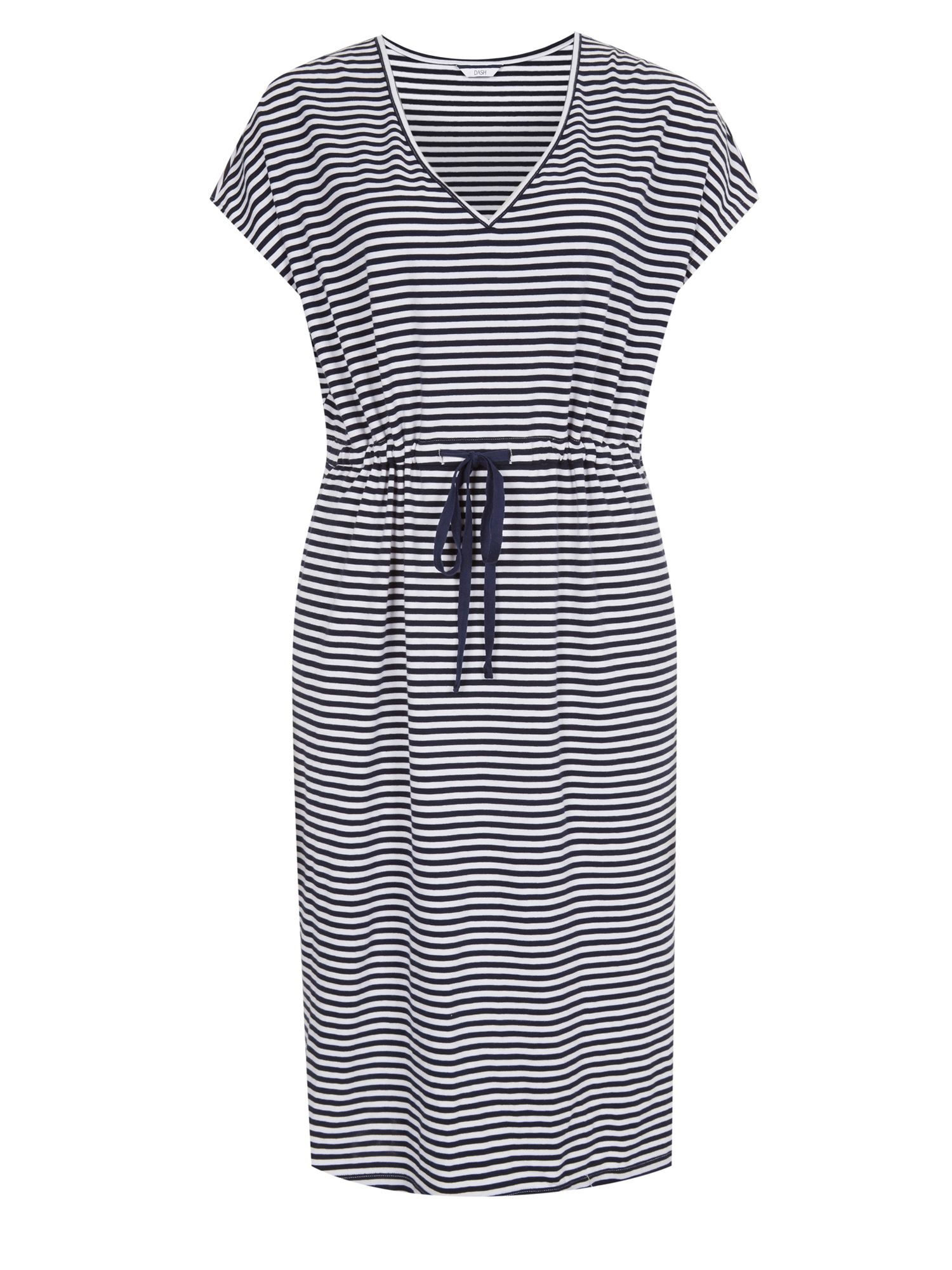 Relaxed tie waist dress