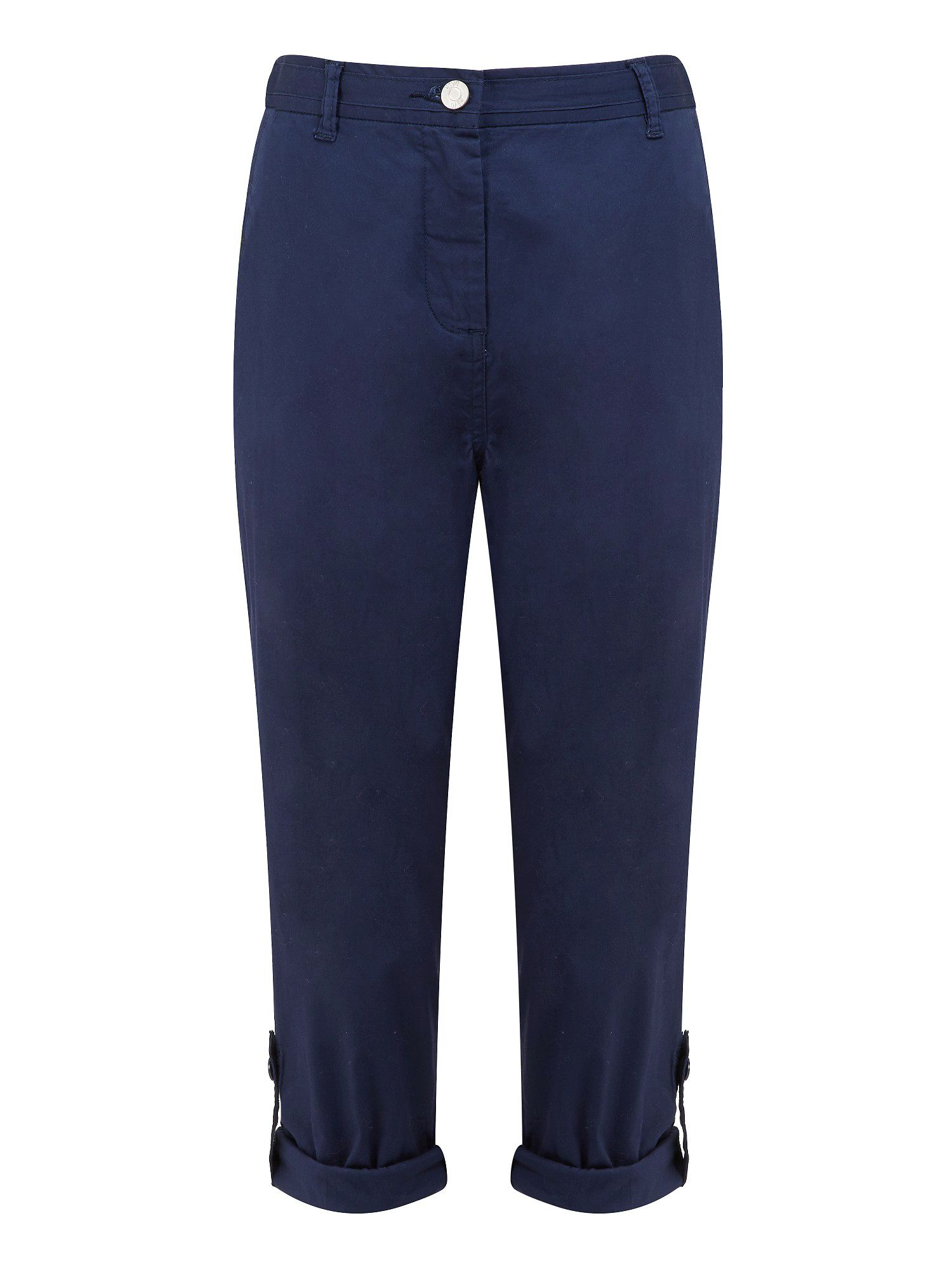 Roll up cotton trouser long