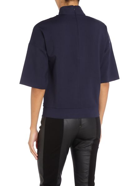 Calvin Klein Tusina 3/4 sleeve top in night sky