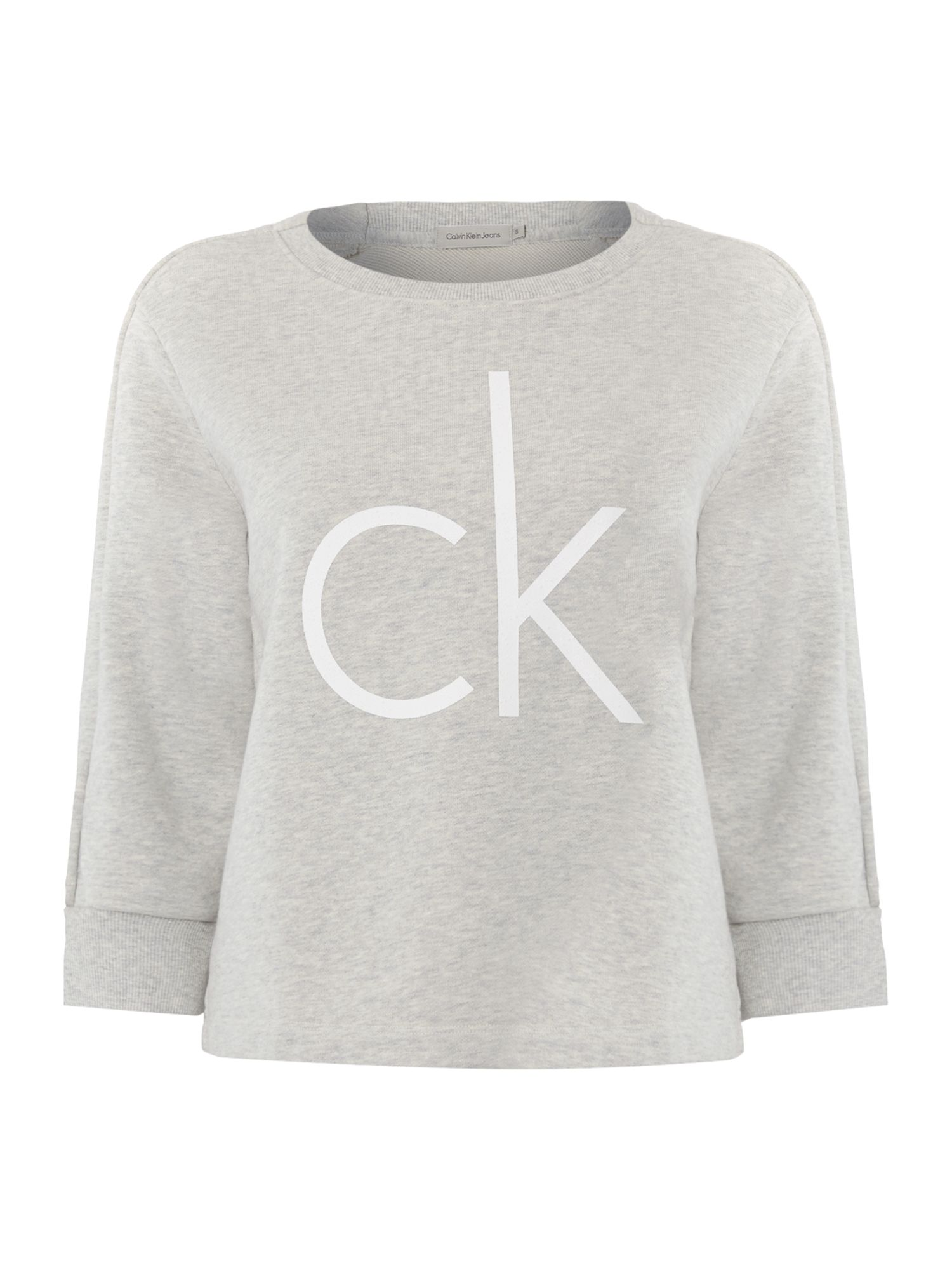 Henna 3/4 sleeve CK logo top