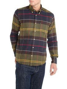 Barbour 100% Cotton John Long Sleeve Shirt