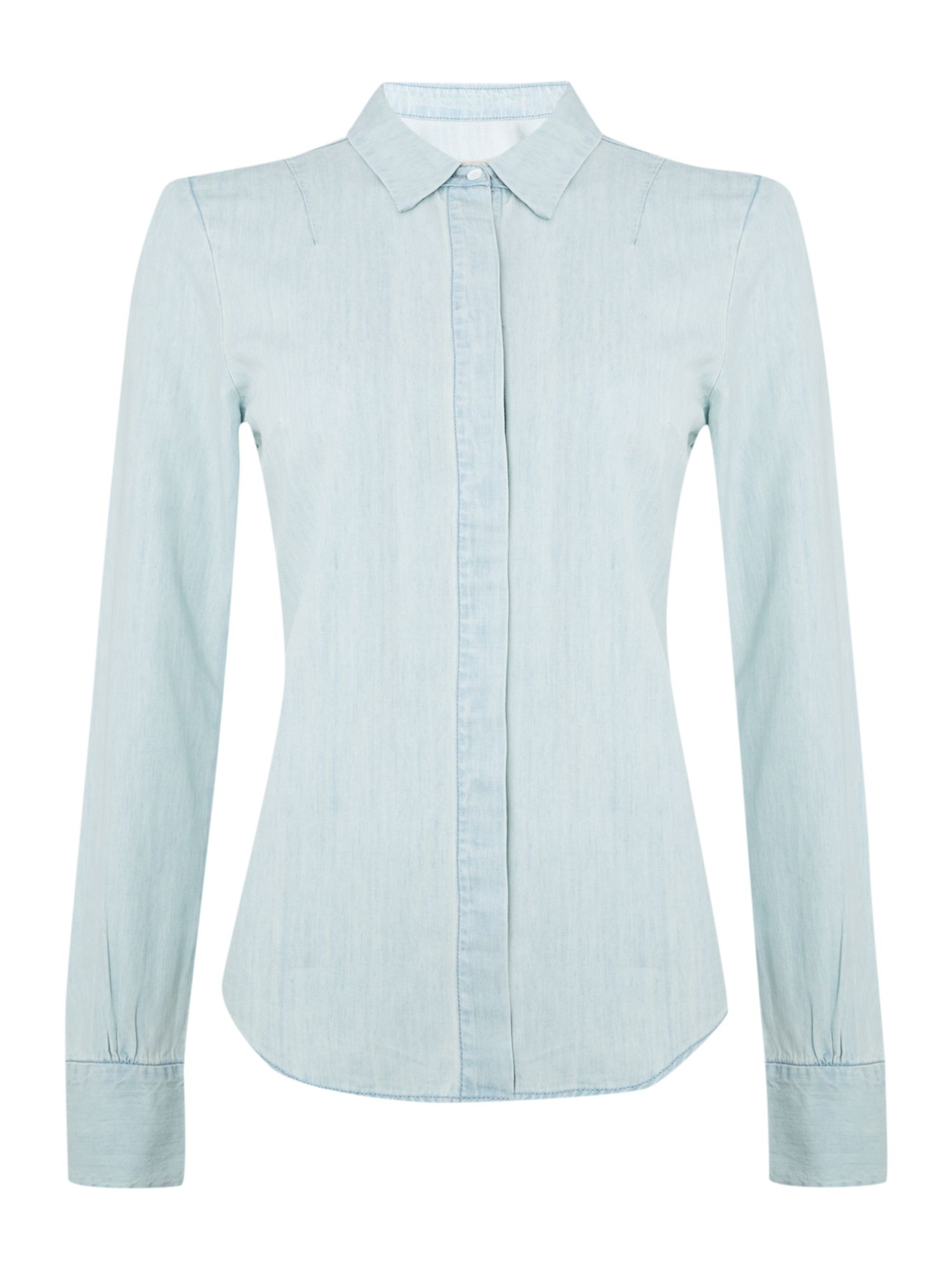 Wynn blench denim shirt
