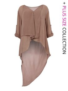 Long tail blouse