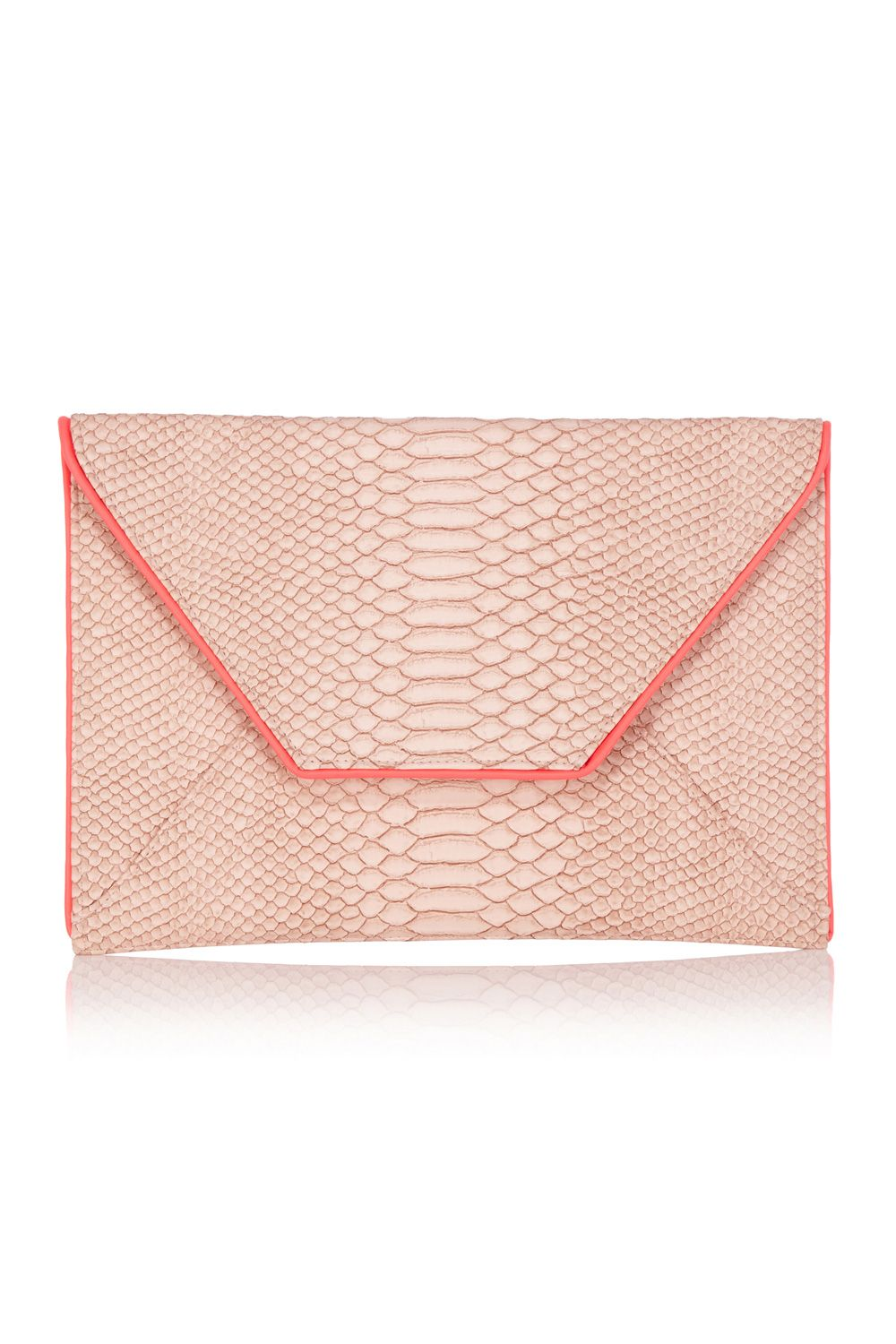Snake envelope clutch