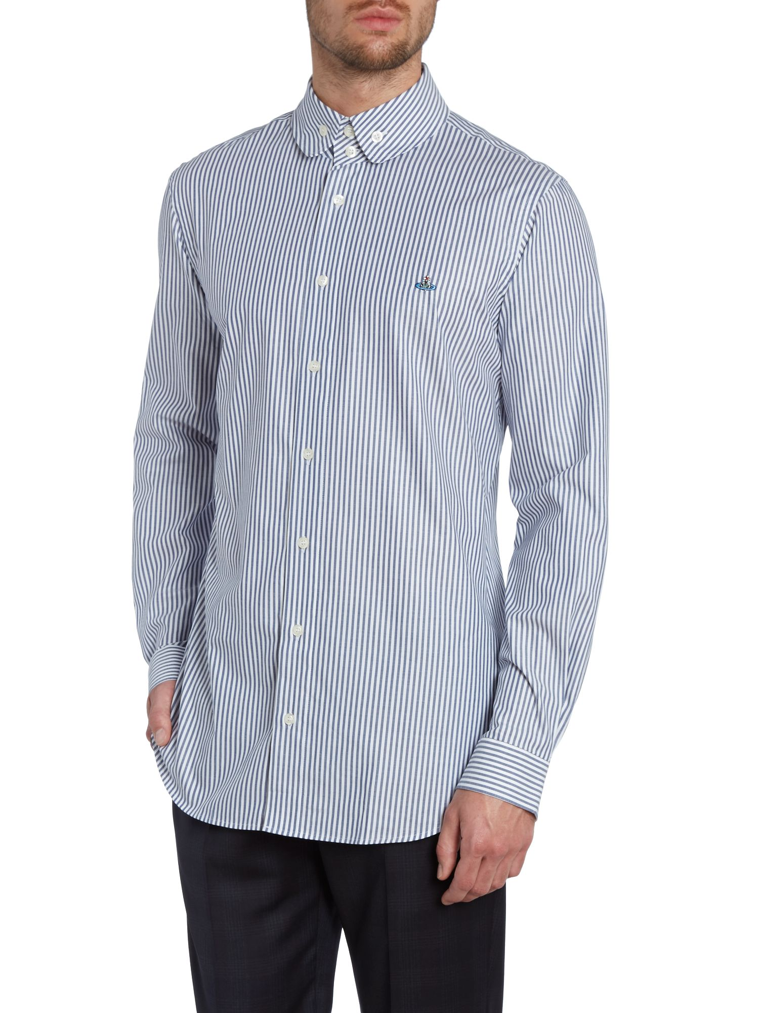 Stripe logo shirt