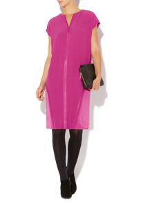 Open Seam Square Dress