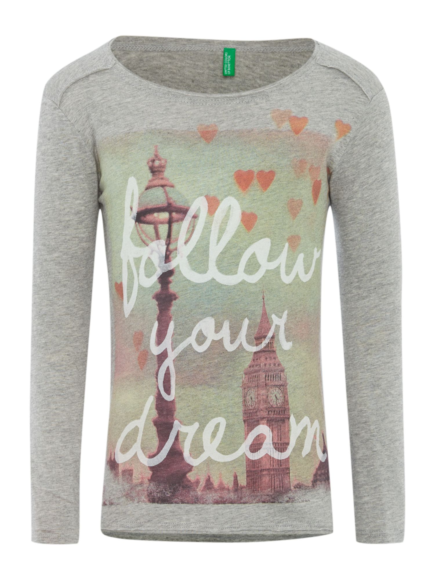 Girls London graphic top