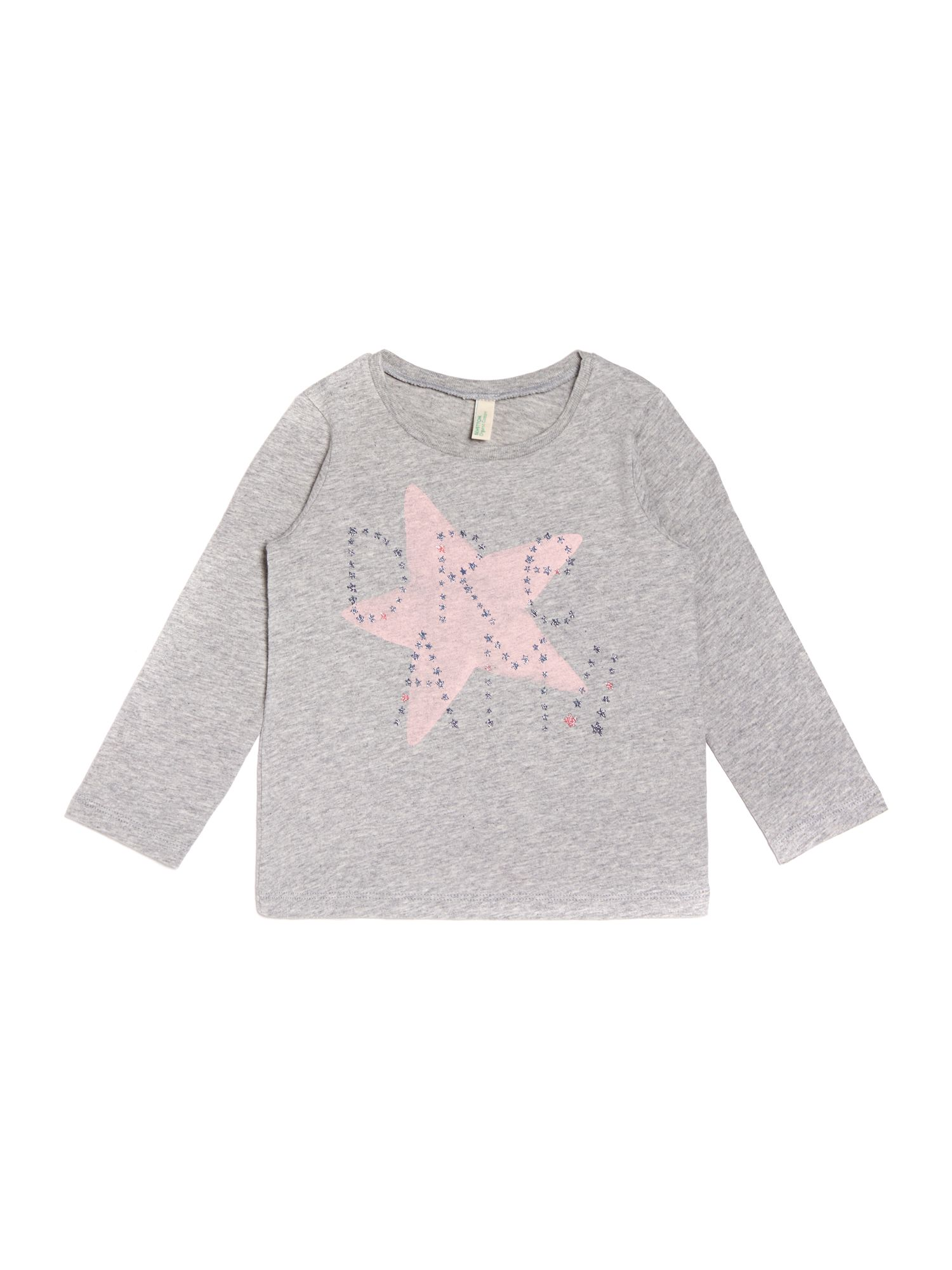 Girls star dream graphic top