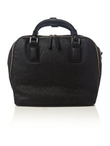 Izzy black tote bag