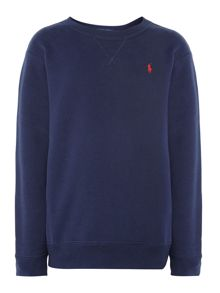 Boys Supersoft Jersey Pullover With Small Pony