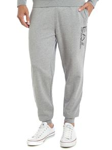 Big logo tracksuit bottoms