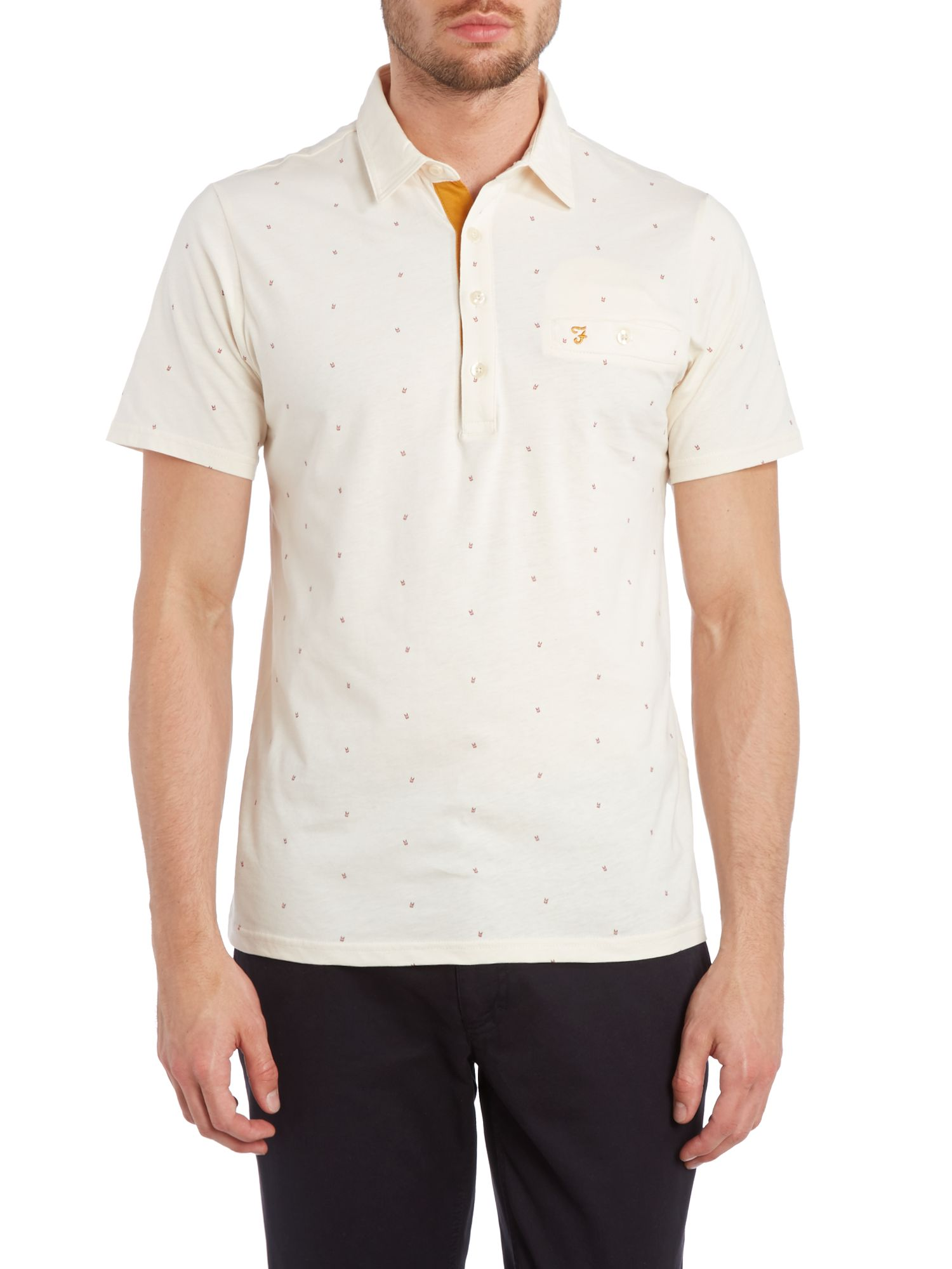 Sundale print body polo shirt
