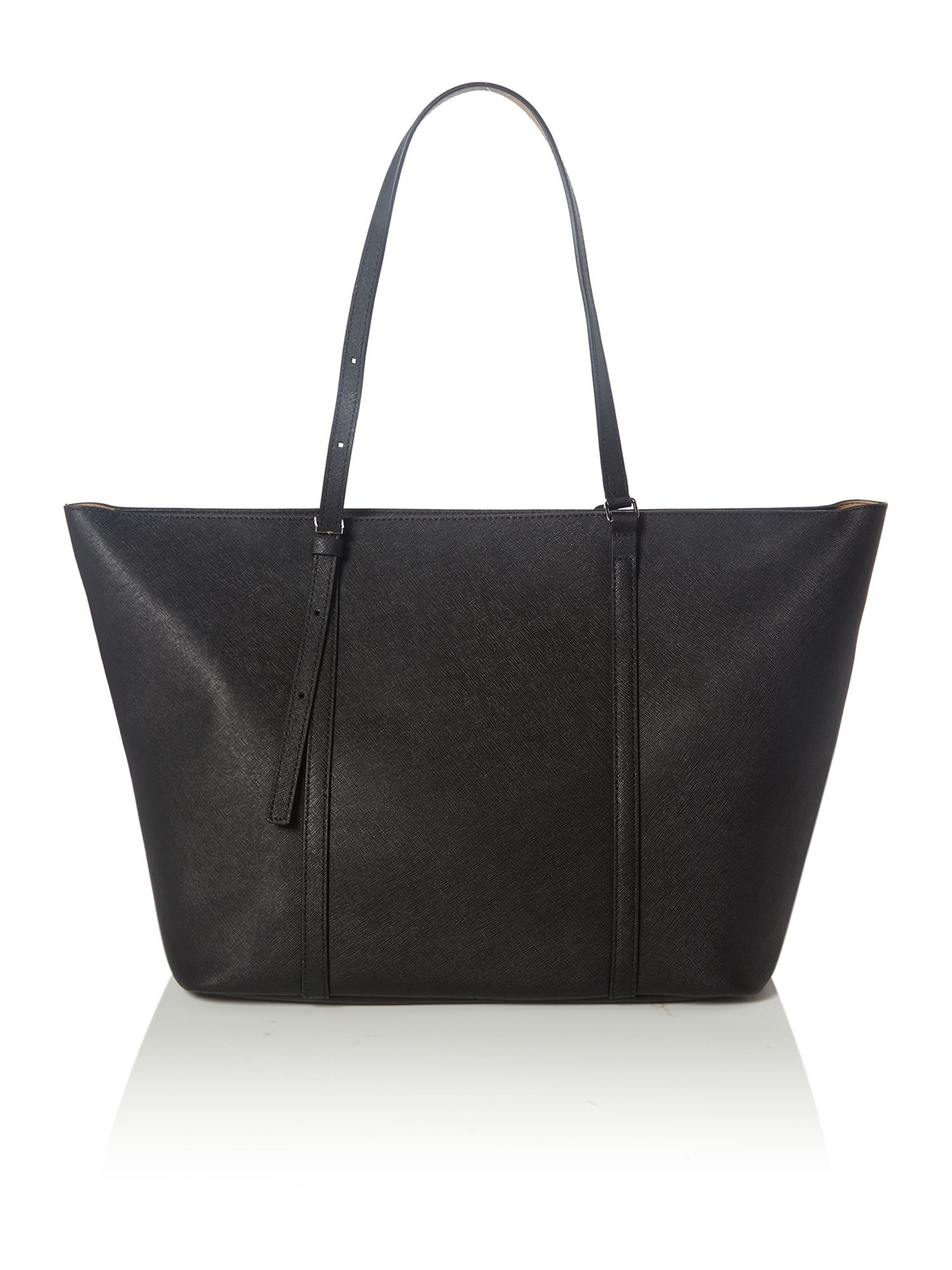 Sofie black tote bag