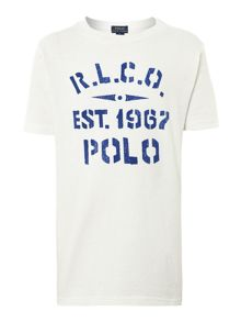 Boys 1967 stencil graphic t-shirt