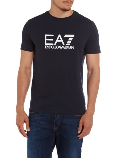 EA7 Crew neck big logo t-shirt