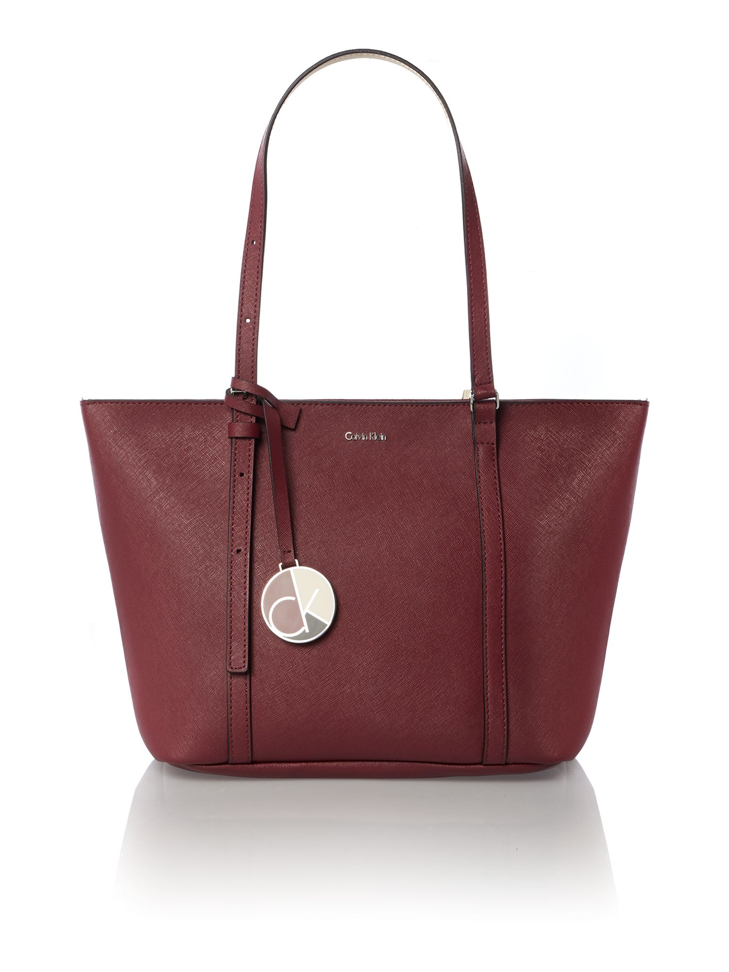 Sofie burgundy medium tote bag