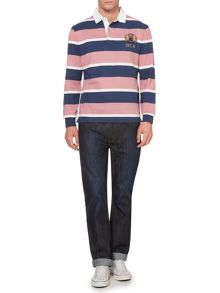 Malden Stripe Long Sleeve Rugby