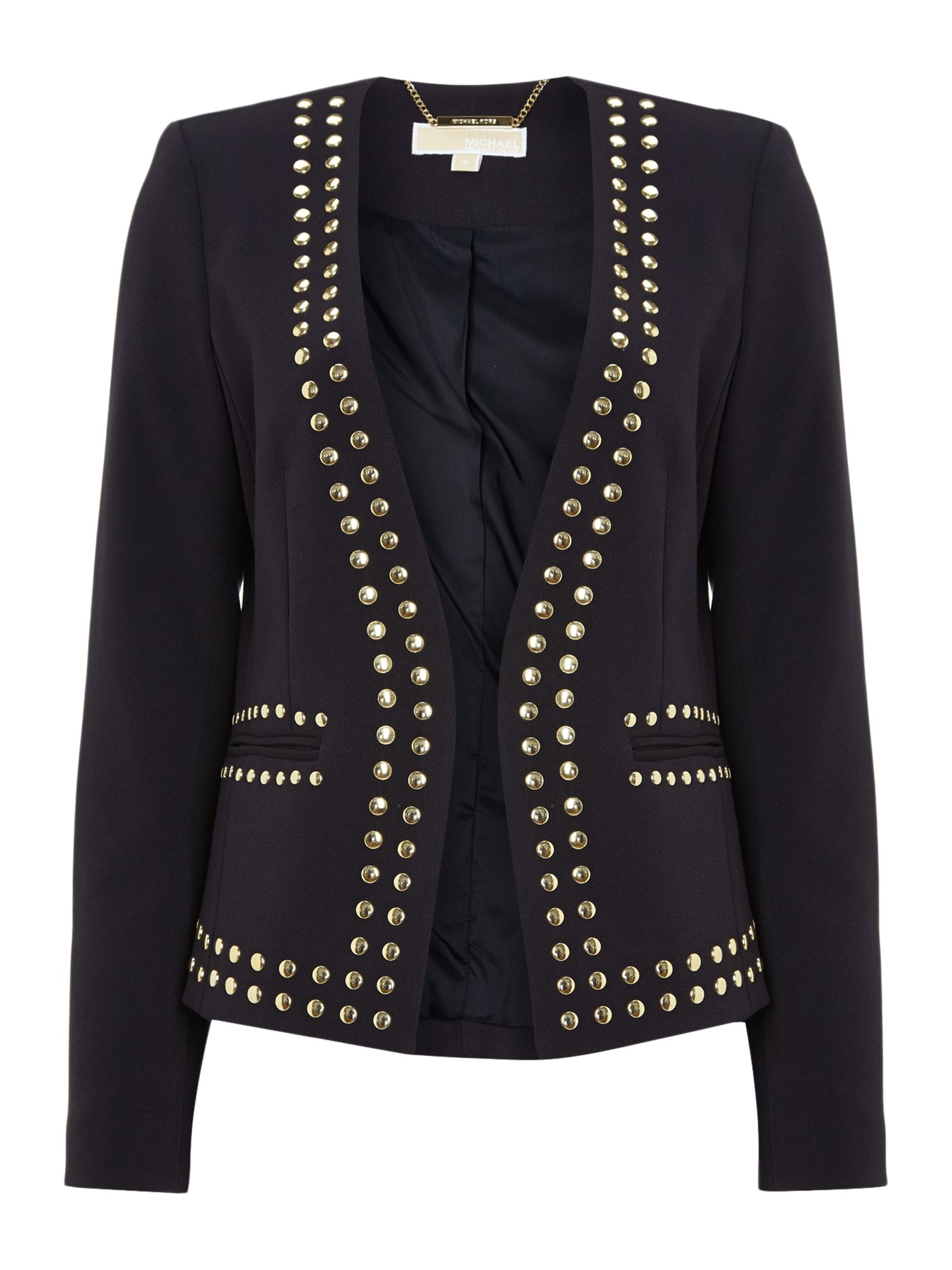 Dome stud jacket
