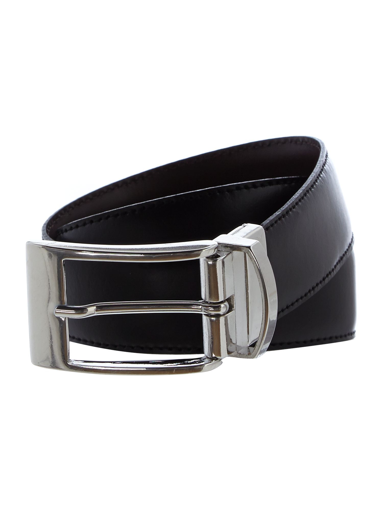 Reversible stitch edge belt