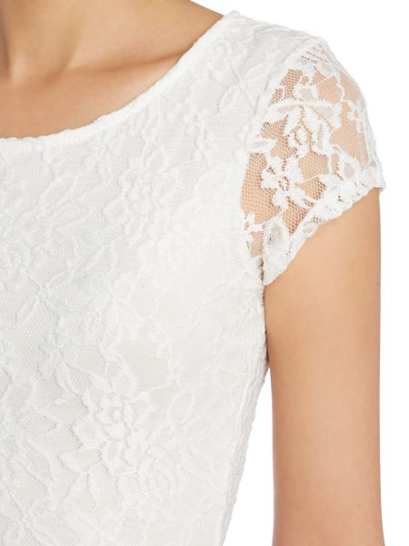 Wal-G Fit and Flare all over Lace Dress