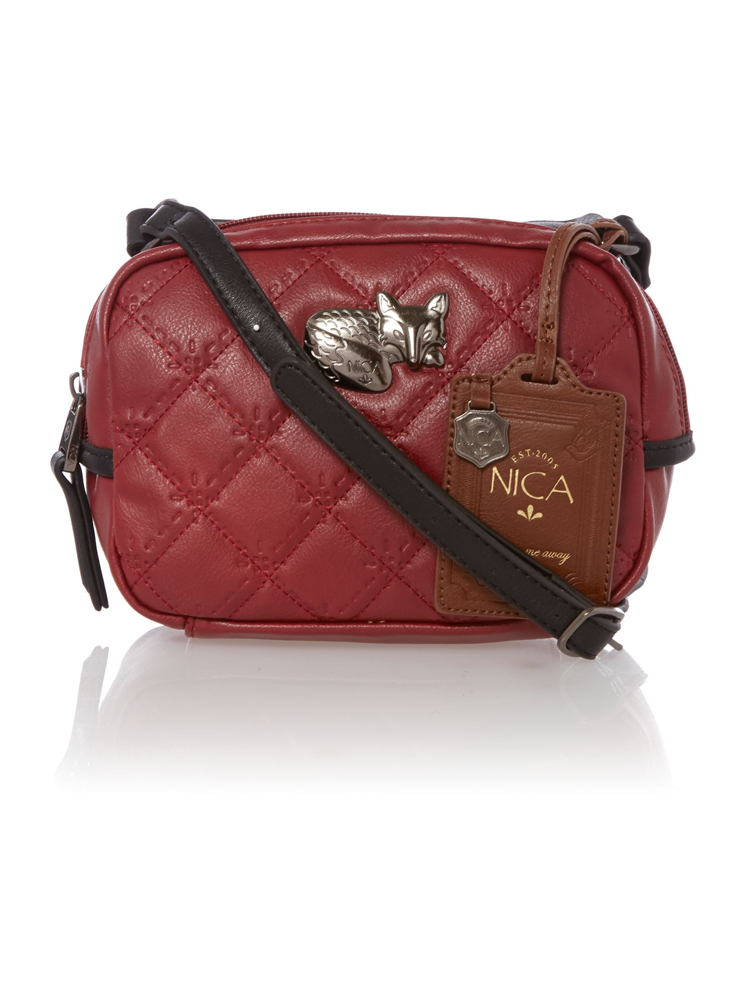 Phoebe pink small crossbody bag