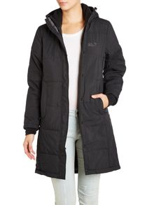 Iceguard long padded coat