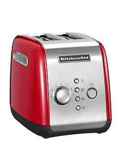 2-slot Toaster Red